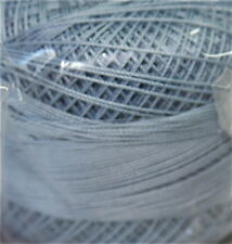 Lizbeth Cordonnet 100% Egyptian Cotton Thread -Size 10 Color 650 Lt. Denim Blue