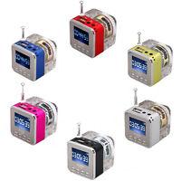 Mini Portable Speaker Best LCD USB HiFi Music MP3/4 Player Micro SD/TF FM Radio