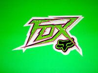 FOX  RACING MOTOCROSS ATV QUAD BMX SKATEBOARD WAKEBOARD CHANGES STICKER DECAL