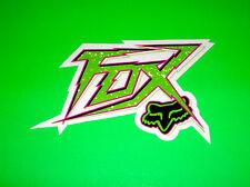 FOX  RACING MOTOCROSS ATV QUAD BMX SKATEBOARD SNOWBOARD VOLTAGE STICKER DECAL