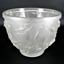 Josef Inwald Glas Schale / Vase Pferde-Dekor Teplice Tschechoslowakei 20cm ++