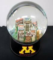 NCAA Officially Licensed Minnesota University Musical Glass Waterglobe