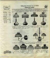 1916 ADVERT 3 PG Air O Lite Airolite Lamps Gas Coleman Arc Lantern Storm King