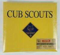 Boy Scouts of America Cub Scout 12x12 Scrapbook Brand New Sealed