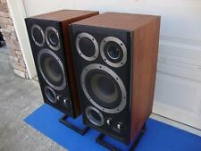 Super Nice Wharfedale E.Fifty (E50) Vintage Floor Speakers - Pro Restored!!