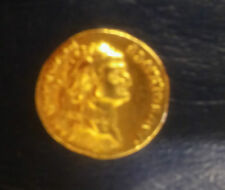 NICE 81-96 A.D. GOLD AUREUS OF EMPEROR DOMITIAN -RESTRIKE