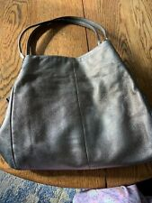 COACH Metallic Leather Large Shoulder Satchel Purse Bag