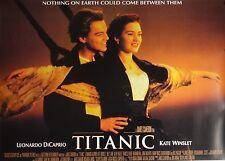Titanic 24x33 British Quad Movie Poster Leonardo DiCaprio