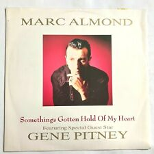 "MARC ALMOND + GENE PITNEY Something's Gotten Hold Of My Heart 12"" Single VG+/VG+"