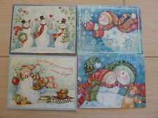 Lang 2008 Four 4 Christmas Cards by Susan Winget