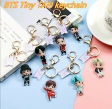 BTS Tiny Tan Mic Drop Keychains