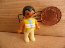4835 Ethnic / Asian Baby Figure - Playmobil Spare Parts Dolls House Nursery