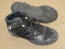 Great Asics Jb Elite Iii (3) Jordan Burroughs black wrestling shoes - kids 3