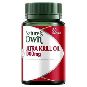 NATURE'S OWN ULTRA KRILL OIL 1000MG 30 CAPSULES 1-A-DAY FOR MILD OSTEOARTHRITIS