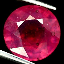 6.20 CT. NATURAL PINK RUBY GLASS FILLED MADAGASCAR ROUND
