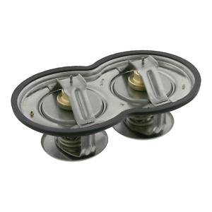 Double Thermostat Inc Gasket Fits Scania Serie 3 Bus 43-Serie 3-Serie Febi 10054