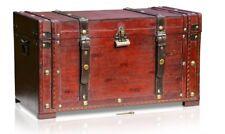 Brynnberg Holztruhe Boston Schatzkiste Schatztruhe Piratenkiste Truhe Kiste #