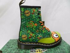Dr Martens 1460 Mikey TMNT Ninja Chaussures 36 Bottes T Lamper Unisexe UK3 Neuf