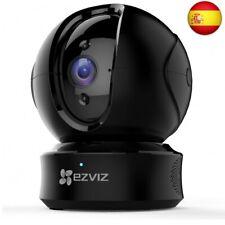 EZVIZ Cámara de Vigilancia WiFi Interior, PT Cámara de  (Ctq6c 720p Negra)