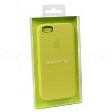 ORIGINALE APPLE IPHONE 5/5S/SE mf043fe/A CUSTODIA COVER IN PELLE - Giallo