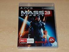Mass Effect 3 PS3 Playstation 3 (AU) **FREE UK POSTAGE**