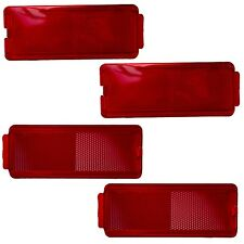 OEM NEW 1999-2007 FOUR Ford Super Duty Door Trim Penel Reflectors - Front/Rear