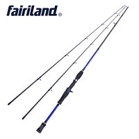 6'/6.6'/7' 2-Sec/with spare tip M Carbon fiber casting fishing rod with a bag
