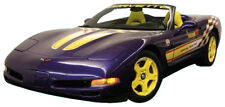 C5 Corvette 1998 Pace Car Yellow / White Hood Decal Kit - Left and Right