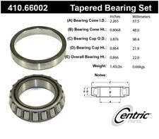 Wheel Bearing and Race Set-Premium Bearings Centric 410.66002