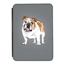 Británico Bulldog Cachorro Kindle Paperwhite Toque PU Funda Libro de Piel