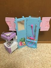 Barbie Doll All Around Home Bathroom Sink Shelves Wall Furniture