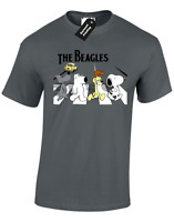 THE BEAGLES MENS T SHIRT FUNNY DESIGN SNOOPY GARFIELD S - 5XL