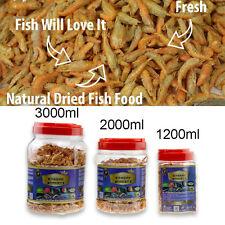 Aquarium Fish Food Shrimp Krill Freeze Dried Carnivore Tropical Cichlid Turtle