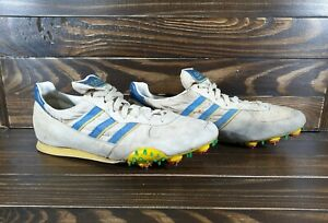 1978 Vintage Adidas Spikes Athletic Track&Field Running Shoes Yugoslavia Size 10