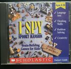I Spy Spooky Mansion - Puzzle Hidden Object Pc Windows Mac Cd-rom Computer Game