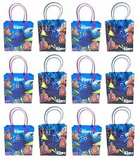 NEW 24x Disney Finding Dory Nemo Birthday Party Favors Goody Loot Gift Candy Bag