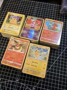 Pokemon TCG 500Cards Bulk (No Energies)Common Uncommon Rare Holos Card Lot M/NM