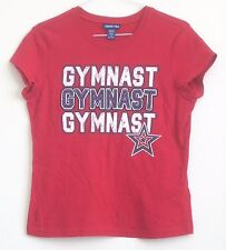 Gymnastics Shirt Red Youth Size 12