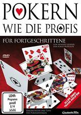 POKERN WIE DIE PROFIS-FORTGESCHRITTENE   DVD NEU