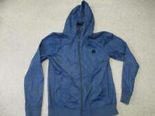 Bench blue zipped thin hoodie top adult size