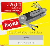 INTERCABLE 7401202 SET CHIAVI ESAGONALI A SFERA