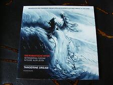 Slip Single: Tangerine Dream : Das Romantische Opfer