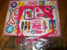 McDonald's Barbie Life in the Dreamhouse Barbie's Activity Book Meal Toy NIP #8