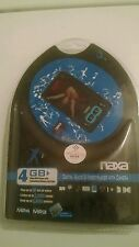 naxa  Black/Blue 4GB mp3/mp4/Digital Audio