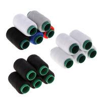 5x Polyester Nähfäden für Hand & Nähmaschine, 219 Yards pro Spule