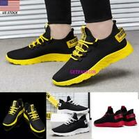 USA Mens Shoes Casual Sports Sneakers Comfy Athletic Running Breathable Shoes