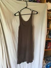 Metalicus Brown Tank Dress, one size