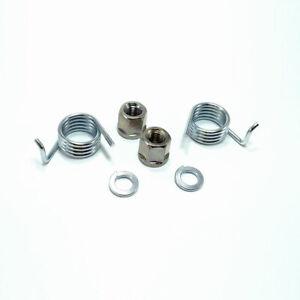 Honda Jazz MK2 (2002-2008) 2x Rear Brake Caliper Return Springs & Nuts HBR309-A8