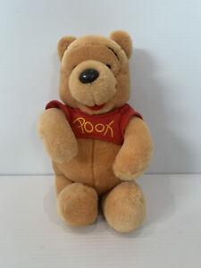 Disneyland Walt Disney World - Vintage Winnie the Pooh Plush Soft Toy - 20cm