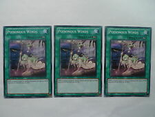 Poisonous Winds x 3 * PHSW Common Playset * Yu-gi-oh